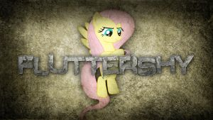 Give him what he wants - Fluttershy Wallpaper by Amoagtasaloquendo