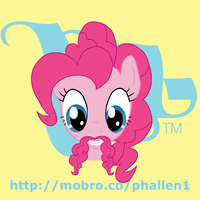 MoBrony project: Pinkie Pie by phallen1