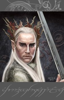 The Hobbit - Thranduil by DavidRabbitte