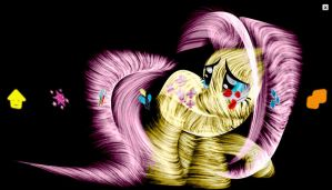PS3 Pony Fractal Theme by InternationalTCK