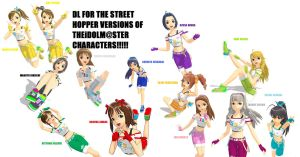 iDOLMaSTER MODELS DL by vocaloidandlegolover