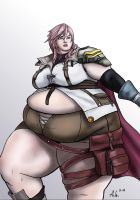 Request: Large Lightning FFXIII by Ray-Norr