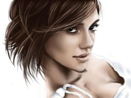 Jessica Alba digital by NutLu