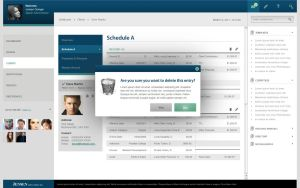 Client Managment System UI by Orilliea