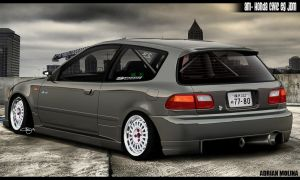 AM Honda Civic Eg JDM by adrianmolina