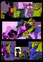 Shattered Collision p1-page 2 color by shatteredglasscomic