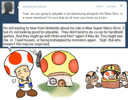 Ask Toad - Playable? by pocket-arsenal