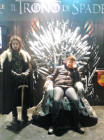 Sitting on the Iron Throne by Lynus-the-Porcupine