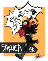 PA: RED ENGI SAKURA by ThatlooserLulu