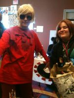 Me and God Tier Dave Strider by SouthPark4Ever14