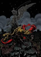 Hellboy at_Turin Colour by Limbo4ever