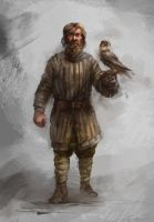 Moravian falconer by Skvor