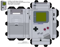 gameboy by cubbes