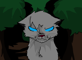 Ashfur..... is not happy by Angel-Studio