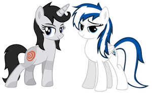 Two Friends To Hang Out With by Mac-Does-Art