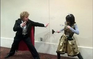 Dalek Vs. The Third Doctor by DalekWithAKeyblade