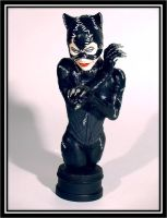Catwoman by PortraitSculptor
