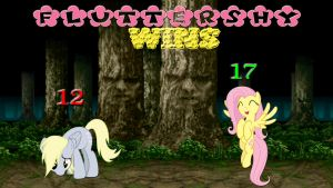 Pony Kombat Tournament Round 1, Battle 2 (Result) by Macgrubor