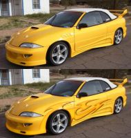 yellow new cavalier by fastworks