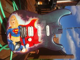 Guitar Supergirl by RichardZajac