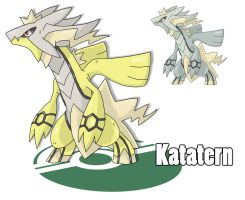 Contest - Legendary Dragons! Katatern by Cid-Fox
