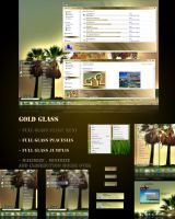 Gold Glass theme for win 7 by nguyenxuanhoa