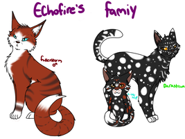 Echofire's family by Tess-Is-Epic