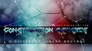 Constellation Brushes by BrielleFantasy