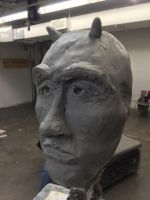 Final Sculpture Project (Fall 2015) by capricornis