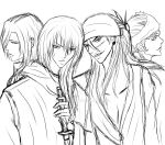 Marcus and Nacta in BLEACH ..sketch.. by CuBur