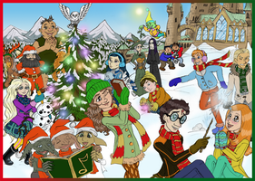 Harry Potter Xmas Special by SandyLeDandy