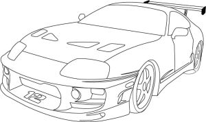 Fast and Furious Supra by reapergt