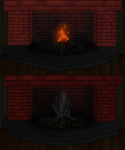 Fireplace v1 and V2 for ToD by kristhasirah