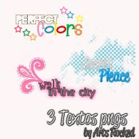 3 Textos pngs by ArtsRocked