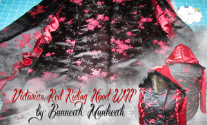 Stage 8: Victorian Red Riding Hood by Bunneahmunkeah
