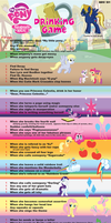 The MLP:FiM Drinking Game -read description- by xanidubia