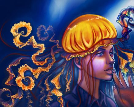 Jellyfish by Of-Red-And-Blue