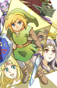 A Link Between Worlds by Kanokawa
