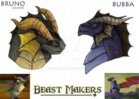 [Spyro] Beast Makers - Bruno n' Bubba by seg0lene