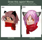 Draw this Again Meme by MxTeddybear