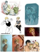 AoT sketchdump by AngieBlues