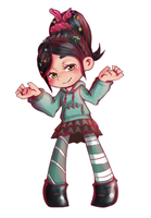 Vanellope by Destiny-Shiva