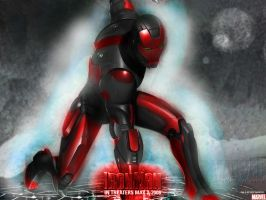 Iron Man: Red and Black by ShakeSlayer