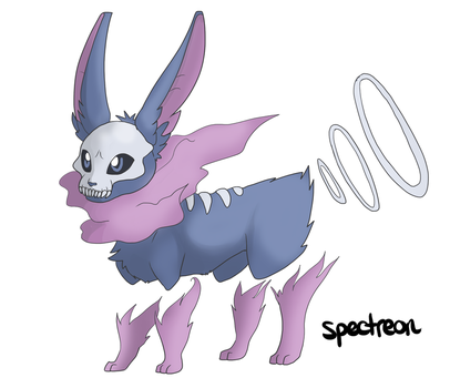 Eeveeloution: Ghost Type Spectreon by Galefaux