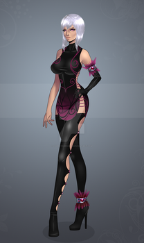 Finished Outfit Adopt 41 (AB2 option) by CherrysDesigns