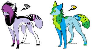 Canine Adopts *OPEN* by Blinded-By-Stones