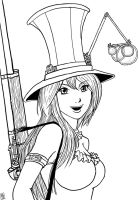 Caitlyn, the Sheriff of Piltover by The-Piojolopez