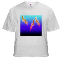 Lightning Bolts by BizarreTShirts