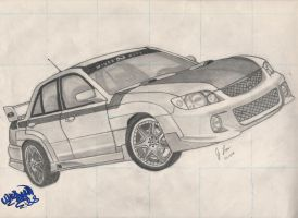 Mazda Protege MP3 Wings West by wingyun88