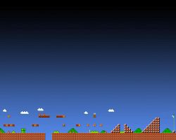 Super Mario 1-1 Animated Wallpaper Gif - 1280x1024 by ColinPlox